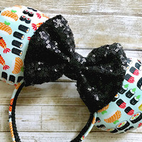Sushi Food Minnie Mouse Ears