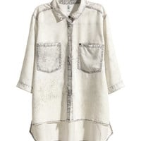 H&M Lyocell Denim Shirt $29.99