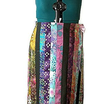 Kitty Quilts Hippie Long Cotton Skirt Just In
