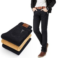 Winter Slim Stylish Stretch Pants Jeans [6541746115]
