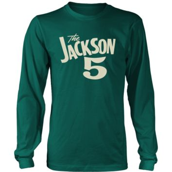 Jackson 5 Michael Jackson Long Sleeve T Shirt