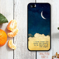 "Starry Night ""I Have Loved The Stars"" Case. iPhone 4 // 4s // 5 // 5s // 5c"