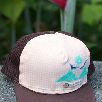 Sunkissed Cottage Mokes Trucker Hat, Brown