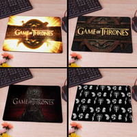 Game Of Thrones Burning Logo 220mmx180mmx2mm&250mmx290mmx2mm