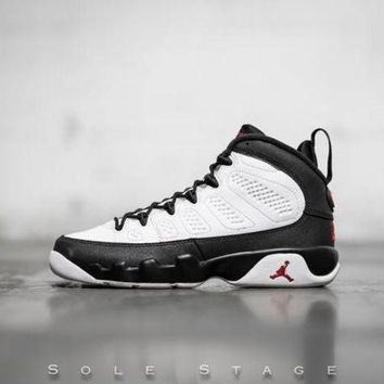 DCCKL8A Beauty Ticks Nike Air Jordan 9 Retro Bg Space Jam White/true Red-black Basketball Shoes 302359 112
