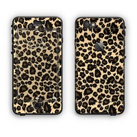 The Small Vector Cheetah Animal Print Apple iPhone 6 LifeProof Nuud Case Skin Set