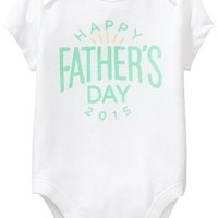 Old Navy 2015 Fathers Day Bodysuits For Baby