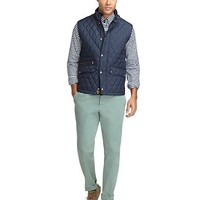 Quilted Vest - Brooks Brothers