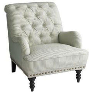 Pier 1 Imports > Catalog > Furniture & Living > Pier1ToGo Product Details - Chas Armchair - Seersucker