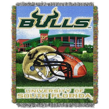 South Florida Bulls Tapestry Throw by Northwest (Usf Team)
