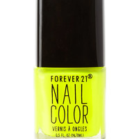 High Voltage Yellow Nail Polish