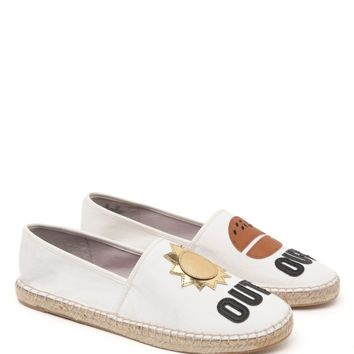 Circus by Sam Edelman Suns Out Buns Out Espadrilles - Womens Sandals - White
