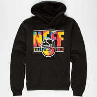 Neff Wild Tie Dye Kenni Boys Sweatshirt Black  In Sizes
