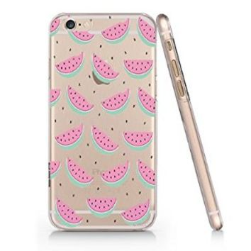 Watermelon Pattern Iphone 6 case, Iphone 6 Case Slim White Cover Skin (4.7'' Screen)- Quindyshop (AM431)