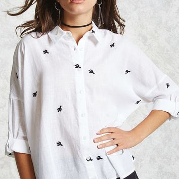 Contemporary Cactus Shirt