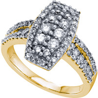 Diamond Fashion Ring in 14k Gold 1 ctw