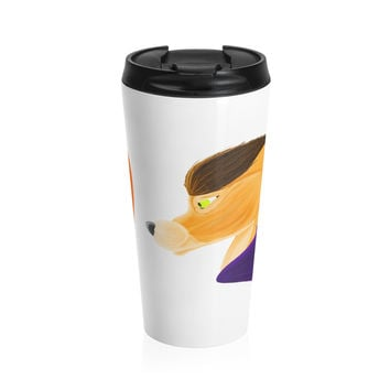 Topaz Trance by Caeleigh- Stainless Steel Travel Mug