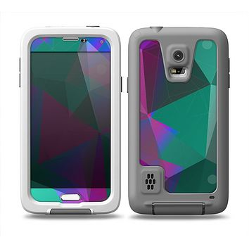 The Raised Colorful Geometric Pattern V6 Skin Samsung Galaxy S5 frē LifeProof Case
