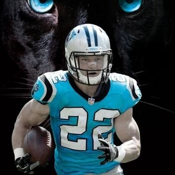 Carolina Panthers - Christian Mccaffrey Poster Print (22 x 34)