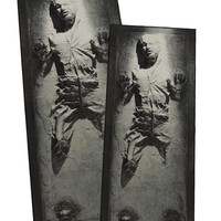 Han Solo in Carbonite Rug - Han Solo large/x-large