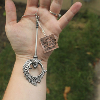 Nami the Tidecaller Staff and Quote Necklace from League of Legends