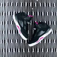 Air Jordan 5 Retro GG (Black/Deadly Pink-White)