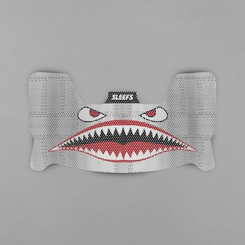 War Shark Metal Visor Skin