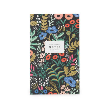 Tapestry Small Notepad with Pocket