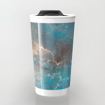 Modern Abstract Travel Mug by Salome