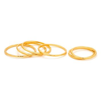 gorjana 'G' Stacking Rings (Set of 6) | Nordstrom