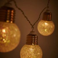 Glitter Bulb Fairy Lights - Urban Outfitters