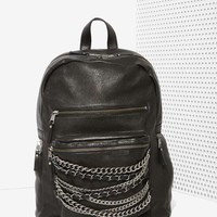 Ash Domino Leather Backpack