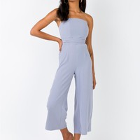 The Kit Jumpsuit Grey | Princess Polly