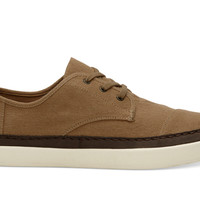 TOFFEE HEMP MEN'S PASEO SNEAKERS