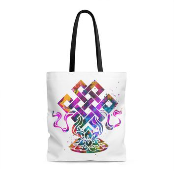 Eternal Knot Tote Bag