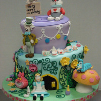 Alice in Wonderland Cake | Flickr - Photo Sharing!