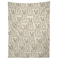 Allyson Johnson Cat Obsession Tapestry