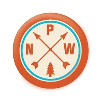 PNW Arrows Button Magnet