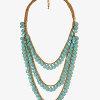Draped Teardrop Necklace
