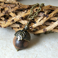 Acorn Necklace - Woodland Fashion