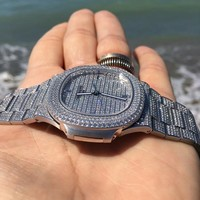 Iced Out PP Nautilus Watch