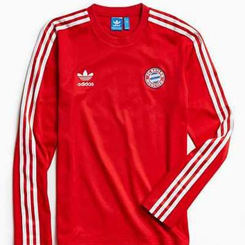 adidas Bayern Munchen Long Sleeve Jersey - Urban Outfitters