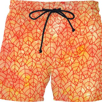 Autumn foliage Swim Shorts