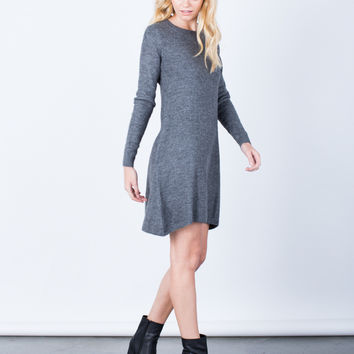 Fall into Comfort Sweater Dress