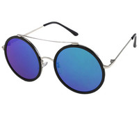 The Lucas Sunglasses in Black & Blue