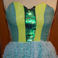 Woman's and Junior's Green with envy Homecoming Dress, Short Prom Dresses, Short Prom Dress 2016, Short Prom Dresses, Sweetheart Prom Dress