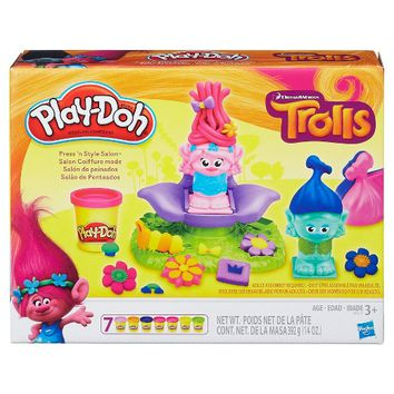 Play-Doh Dreamworks Trolls Press 'n Style Salon : Target