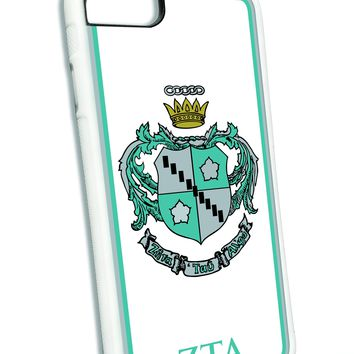 Zeta Tau Alpha iPhone Case White