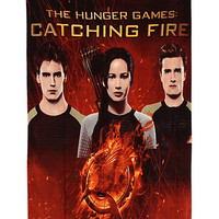 The Hunger Games: Catching Fire Group Fleece Throw