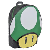 Nintendo 1 Up mushroom backpack - unisex rucksacks - Nintendo bags UK